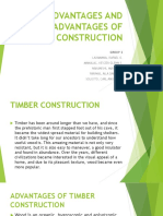 Advantages and Disadvantages of Timber Construction