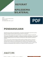 Referat - Papiledema