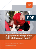 child safety in car