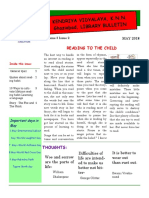 News Letter May 2018