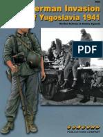 Concord 6526. the German Invasion of Yugoslavia 1941