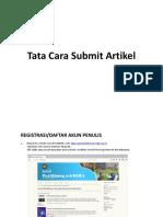 Tutorial Penulis-jurnal Tekmira