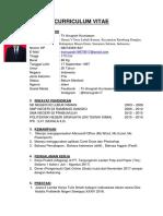 Curriculum Vitae (Cv) Tri