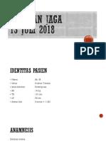 Presentasi Laporan Jaga PICU 13 Juni 2017 an. M