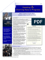 Heading Up - Charting Navy's Progress
