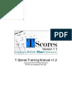 T-Scores Manual v1.2