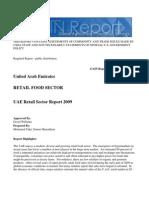 Retail Food Sector United Arab Emirates 2-27-2009