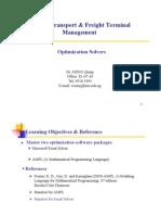 TP5027 Lecture 8 - Optimization Solvers