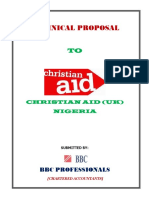 Christian Aids Technical Proposal - 17.02.15
