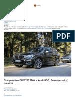 Comparativo BMW X3 M40i x Audi SQ5_ Suave (e Veloz) Na Nave