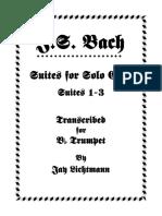 Cello  Bach Suite 1-3 for Bb instr..pdf
