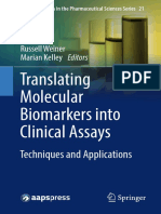 (AAPS Advances in the Pharmaceutical Sciences Series 21) Russell Weiner, Marian Kelley (eds.)-Translating Molecular Biomarkers into Clinical Assays _ Techniques and Applications-Springer Internation.pdf