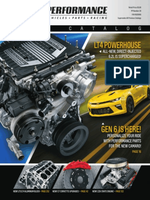 2016 Chevrolet Performance Parts Catalog Updated 02 11 16