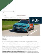 Ao Volante_ Volkswagen T-Cross é Bom Para Pessoas, Não Para Bagagens
