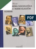 George Ritzer Savremena Sociološka Teorija i Njeni Klasični Koreni
