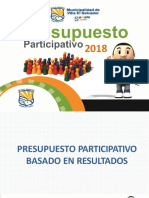 CAPACITACIÓN  - PP2018