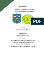 Refreshing - Pemeriksaan leher - M Badar -2013730061.docx