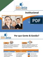 Portfólio 2018 - Instituto Gente e Gestão