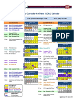 2018-19 CCA Schedule (Calendar) - Updated on 14 June 2018