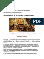 Universidad Virtual de Quilmes - Especialización en Cs. Sociales y Humanidades - 2017-04-07