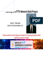 FTTH Infrastructure Components and Deployment Methods