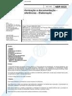 ABNT NBR 6023 - Informação e Documentação - Referências - Elaboração.pdf