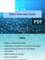 Mock Interview Guide Room2room