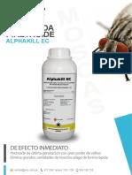 Alphakill - Folleto