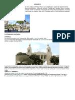 Provincias y Atrativos Turisticos de La Region