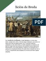 La Rendición de Breda