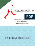 TUGAS KIMIA  Batrei Merkuri
