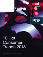The 10 Hot Consumer Trends for 2018 and Beyond
