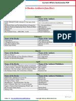 2016 Books-Authors (Jan- Dec) by AffairsCloud.pdf