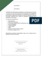 Carta de Instrumentos Toscano.