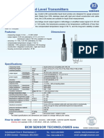 Submersible Level Transmitter