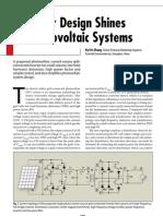 807PET21 Inverter Design Photo Voltaic Systems