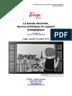 La bande dessinée, oeuvre artistique et support pédagogique - Michel Boiron