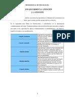 Informe General (Tests Que Miden Atención)