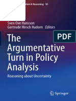 Sven Ove Hansson, Gertrude Hirsch Hadorn eds. The Argumentative Turn in Policy Analysis Reasoning about Uncertainty.pdf