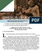 Comulgar en Gracia (48) HORA SANTA Con San Pedro Julián Eymard.