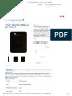 Disco Rígido Externo WD 1TB 3.0 Carrefour Argentina