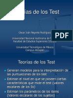 Teorías de los Test
