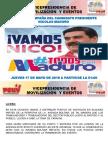 Plan de movilización cierre de campaña Maduro 2018