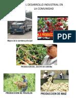 Aportes Del Desarrollo Industrial en La Comunidad
