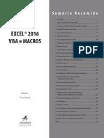 Capitulo de Amostra Excel VBA Macros 2016