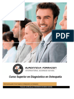 Curso Superior Diagnostico Osteopatia