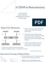 Applications of CIDNP in Photochemistry