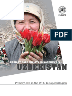 Primary Care Quality Management in UZB