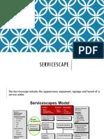 Servicescape and Blueprint