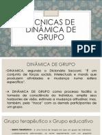 TECNICAS_Dinâmica de Grupos